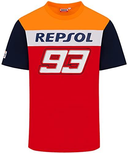 Honda Repsol Dual Marc Marquez 93 Big 93 Camiseta Oficial de MotoGP...