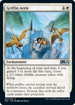 Magic: The Gathering - Griffin Aerie - Core Set 2021