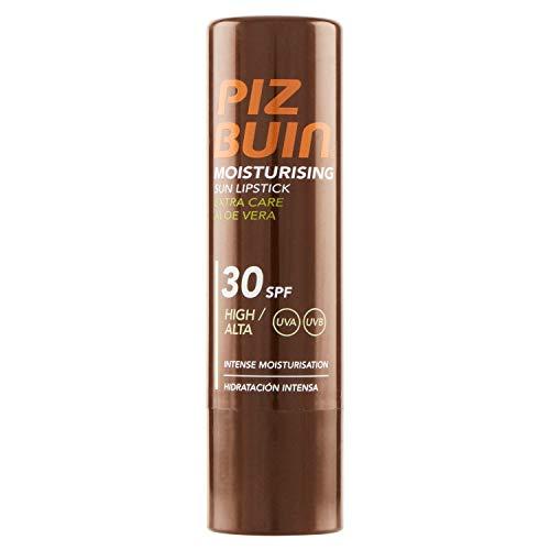Piz Buin Aloe Vera Extra Care Sun Lipstick, SPF30, High