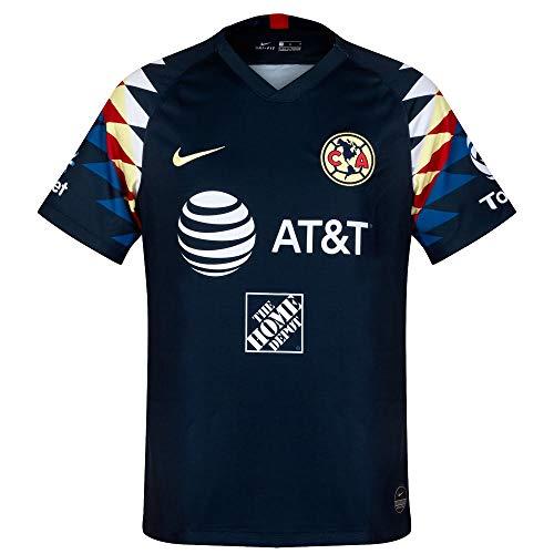 Nike 2019-2020 Club America Away Jersey (Armory Navy) (M)