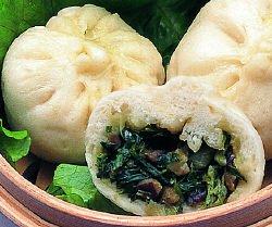 神龍牌 香茹菜包(椎茸野菜まんじゅう) 冷凍 40g×6個