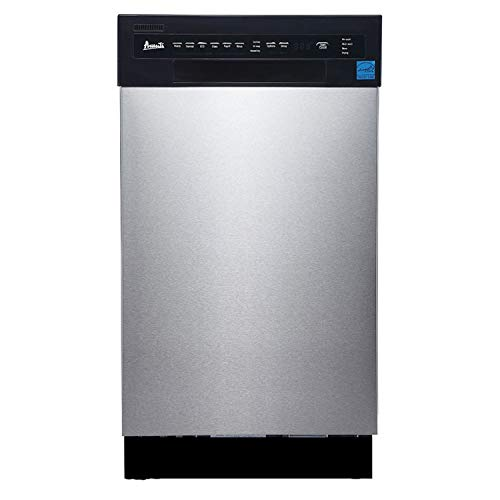 "Avanti 18"" Built-in Dishwasher SS Panel"
