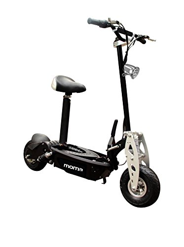 Moma Bikes Patinete Electrico Plegable Urbano 1000W 10', 42km/h Autonomía 20km