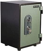 Mahmayi Victory T40 Fire Safe with 2 Key Locks, 40 kg, Grey, VT40KK