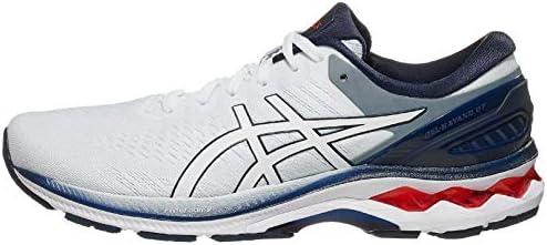 ASICS Men s Gel Kayano 27 Running Shoes 11 5M White Peacoat product image