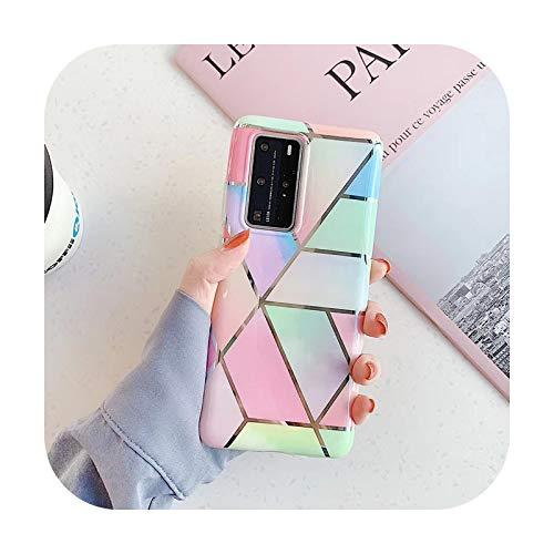 Luxuriöse Marmor-Haarball-Armband aus weichem Silikon für Samsung Galaxy S8 S9 S10 20 Plus Note Ultra A50 A40 A51 A71, nur Handyhülle.