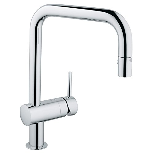 Grohe 32319000 Minta Dual Spray Pull Down Kitchen Faucet Chrome Narguade558