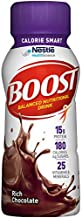 Boost Calorie Smart Balanced Nutritional Drink, Rich Chocolate, 8 Fl. Oz Bottle, 24 Pack (Packaging May Vary)