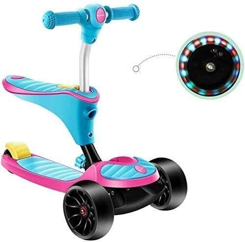 Mode Kinder Skateboard Folding Roller Sport Skateboard-Fans kicken Sie Roller Kinder Roller Reise Roller 2-in-1...