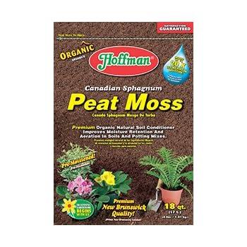 ... Hoffman Canadian Sphagnum Peat Moss - 18 Quart