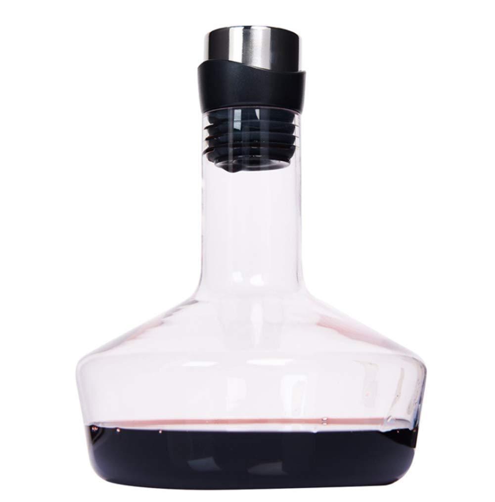 XINGUANG Wine Decanter 4.5L100% Botella de Vino de Cristal sin ...