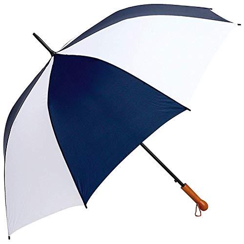 Guarda-chuva de golfe aberto automático branco azul marinho série Elite GFUM60NWLT All-Weather 152 cm