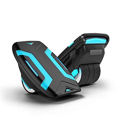 ANS Gyroor Electric Roller Skate Hover Board hovershoes with LED Lights,300W Dual Motor Self Balancing Scooter for Kids and Adults,Gyroshoes. (Black)