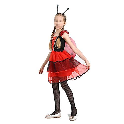 Halloween carnaval carnaval kostuum Halloween Cosplay kleding kinderen meisjes Pretty Ladybug Fairy kostuum kostuum