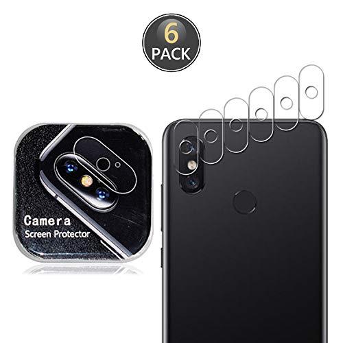 Owbb [6 unidades] Protector de pantalla para Meizu M3S Smartphone Full Coverage Protección Alta Transparente 7H Dureza Trasera Lente de Cámara Película
