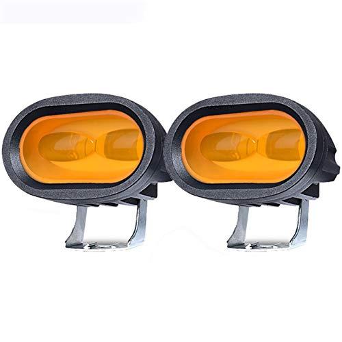 6D LED Light Light MOTORIA Universal MOTORIA DESPUÉS DE LA LÁMPARA Auxiliar AUXILIARÍA Light DE LA MANQUETA DE LA MOTICA DE LA MOTORIZA DE LA MOTORIZA del Carro (Color : 2pcs Amber)