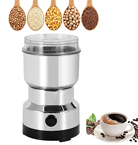 Moongiantgo Multifunction Smash Machine Spice Grinder Portable Electric Grain Mill Grinder Stainless...