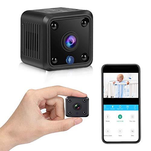 Mini Security Camera Wireless Home Secret Nanny Cam, Motion Detection Alert...