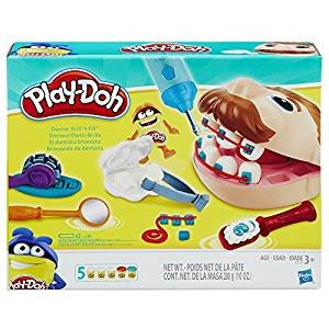 Play-Doh Doctor Drill 'n Fill Retro Pack - Exclusive Retro-Style Packaging - Celebrate 60 years of Creativity with a Play-Doh classic