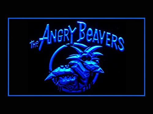 Angry Beavers US Quality inspection Animated TV Pub Advertising Bar Genuine Free Shipping Light LED Sign