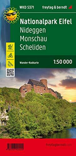 Nationalpark Eifel, Wanderkarte 1:50.000, mit Outdoor Guide: Mit Outdoort Guide (freytag & berndt Wander-Rad-Freizeitkarten)