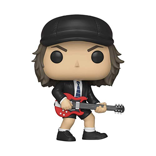 Funko- Pop Vinyl: Rocks: AC/DC: Angus Young w/Chase (Styles May Vary) Figura coleccionable, Multicolor, talla nica (36318) , color/modelo surtido