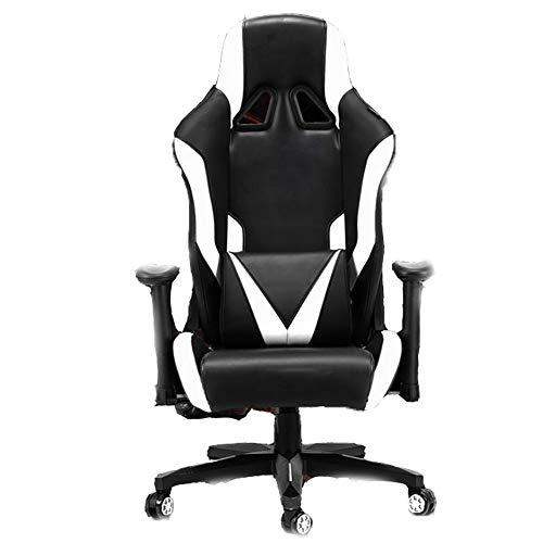 Gaming Chair BLTLYX Game Chair Gaming Chair Ergonomische computerfauteuil Anchor Cafe Game Competitieve stoelen Zoals afgebeeld 1 Wit