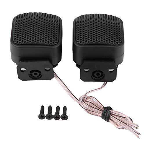 EVGATSAUTO Universal 12V DC Kunststoffpaar Super Power Loud Square Car Audio Lautsprecher Hochtöner