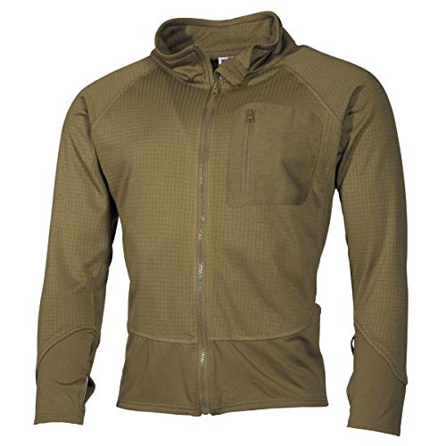 MFH 03202 US sotto Giacca Tactical (Coyote/L)