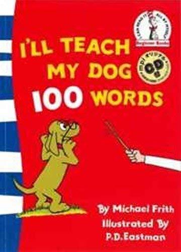 I'll Teach My Dog 100 Words 英語絵本とmpiオリジナルCD付