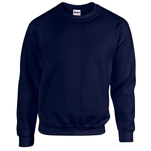 Gildan Heavy Blend Erwachsenen Crewneck Sweatshirt 18000 L, Navy