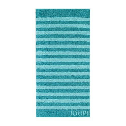 Joop! Handtuch Classic Stripes 1610 | 40 türkis - 50 x 100
