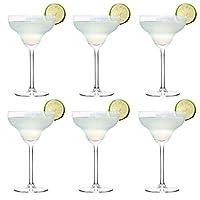 libbey bicchiere da cocktail margarita - 300 ml / 30 cl - set di 6 - lavabile in lavastoviglie - perfetto per un cocktail party a casa