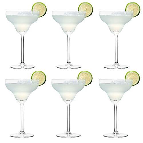 Libbey Joya Bicchiere da cocktail Margarita - 300 ml / 30 cl - Set di 6 - Lavabile in lavastoviglie - Perfetto per un cocktail party a casa