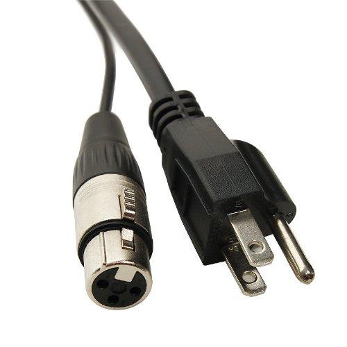 Elite Core PA25 25-Feet Powered Speaker Cable XLR+AC