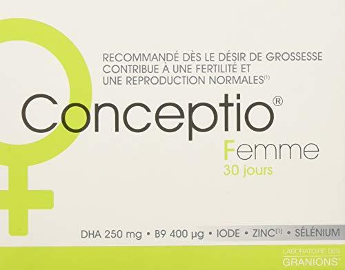 Granions Conceptio multi-Vitamine pour Femme 30 Capsules/30 Gélules