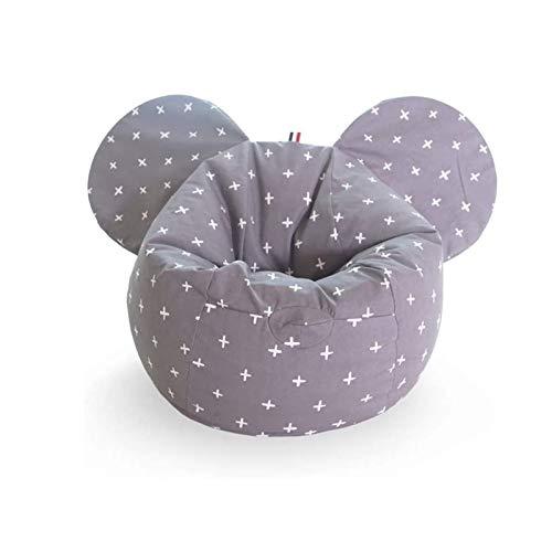 JJZXD Creative Cute Cartoon Kids Gaming Chair Indoor Outdoor Lazy Sofa Mini Bean Bag Washable (Color : A)