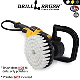 Drillbrush Ronda de 18 cm de nylon friega el cepillo de Rotary Tampones y máquinas para pulir