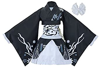 Sheface Women s Cosplay Lolita Fancy Dress Japanese Kimono Anime Costumes  XXX-Large P04 Black