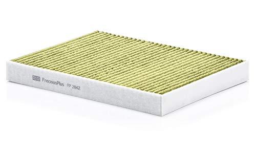 Original MANN-FILTER Innenraumfilter FP 2842 – FreciousPlus Biofunktionaler Pollenfilter – Für PKW