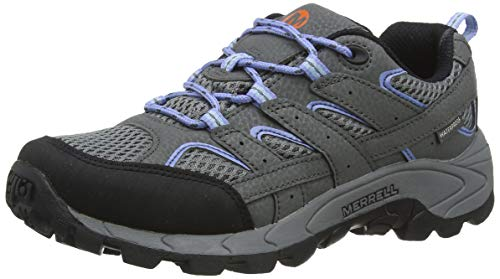Merrell Moab 2 Lace Waterproof, Chaussures de Fitness Femme, Gris (Grey/Periwinkle), 36...