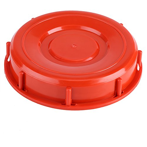 ViaGasaFamido IBC Tankdeckel Kunststoff Gallonen Tankdeckel Deckel Wasser Flüssigkeit Tankdeckel Montage Kunststoff Deckel Deckel Adapter Flüssigkeitsspeicher Werkzeug 163mm(Type B)