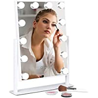 Best Choice Products Smart Touch Adjustable Color Temp & Brightness Mirror