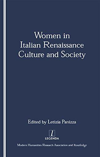 Women in Italian Renaissance Culture and Society (Legenda Main) (English Edition)
