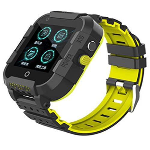 huanglianglanshangmao Niños 4G Smart Watch Estudiante Ubicación Teléfono WiFi Internet Video Call Watch (Color : 3)