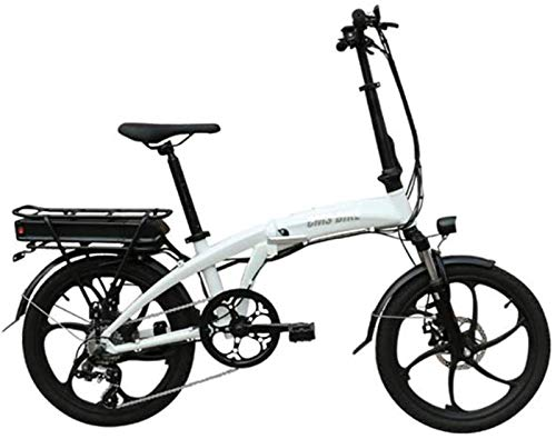 Bicicletas Eléctricas, Bicicleta eléctrica plegable de 26 pulgadas bicicleta eléctrica de gran capacidad de iones de litio (48V 350W 10.4a) de la ciudad de bicicletas Velocidad máxima 32 kilometros /