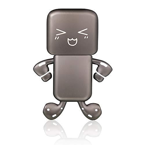 zjr USB 2.0 Flash Drive 64 gb Cool Metal aleación Pulgar Drive USB Disco Memory Stick con llavero (Excitte)
