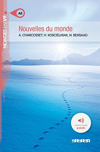 Nouvelles du monde niv. A2 - Livre + mp3 (Mondes en VF)
