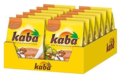 Kaba Kakao Nachfüllbeutel - Getränkepulver mit Schokoladen-Geschmack - Beutel - 1 x 500g