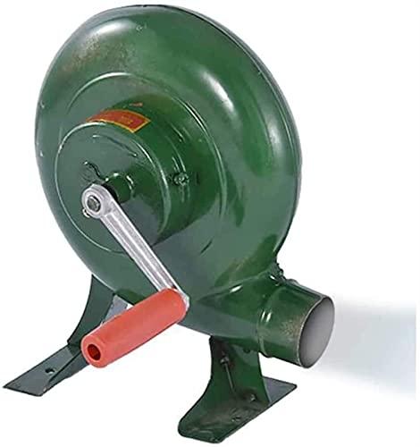 Y DWAYNE Hand Crank Blacksmith Forge Blower Iron Gear Popcorn Fan Manual Fan,Cooking Manual BBQ Air Blower,200W